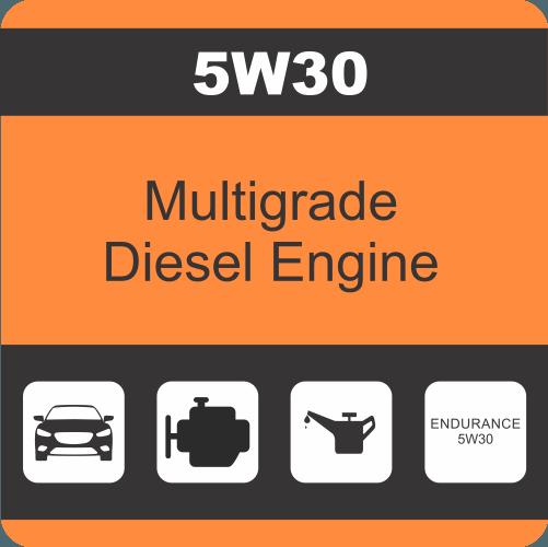 ENDURANCE 5W30 SYN ENGINE OIL  (4 x 5lt)