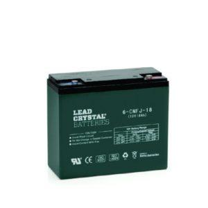 18AH - 12V Deep Cycle Lead Crystal Battery - BC-6CNFJ-18