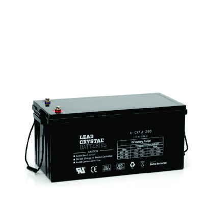 200AH - 12V Deep Cycle Lead Crystal Battery - BC-6CNFJ-200