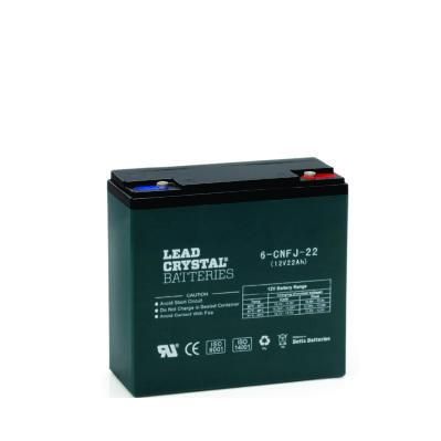 22AH - 12V Deep Cycle Lead Crystal Battery - BC-6CNFJ-22