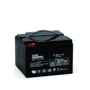24AH - 12V Deep Cycle Lead Crystal Battery - BC-6CNFJ-24