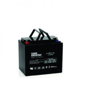 35AH - 12V Deep Cycle Lead Crystal Battery - BC-6CNFJ-35