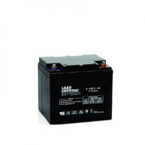 40AH - 12V Deep Cycle Lead Crystal Battery - BC-6CNFJ-40