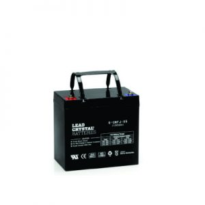 55AH - 12V Deep Cycle Lead Crystal Battery - BC-6CNFJ-55