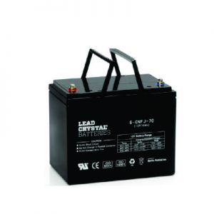70AH - 12V Deep Cycle Lead Crystal Battery - BC-6CNFJ-70