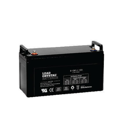 120AH - 12V Deep Cycle Lead Crystal Battery - BC-6CNFJ-120