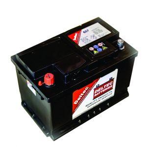 657 Deltec Automotive 70AH Battery - BD-657N70-L3R
