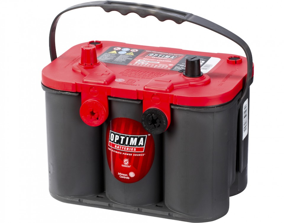 50 Ah Deep Cycle Optima Battery Bvo R50l St