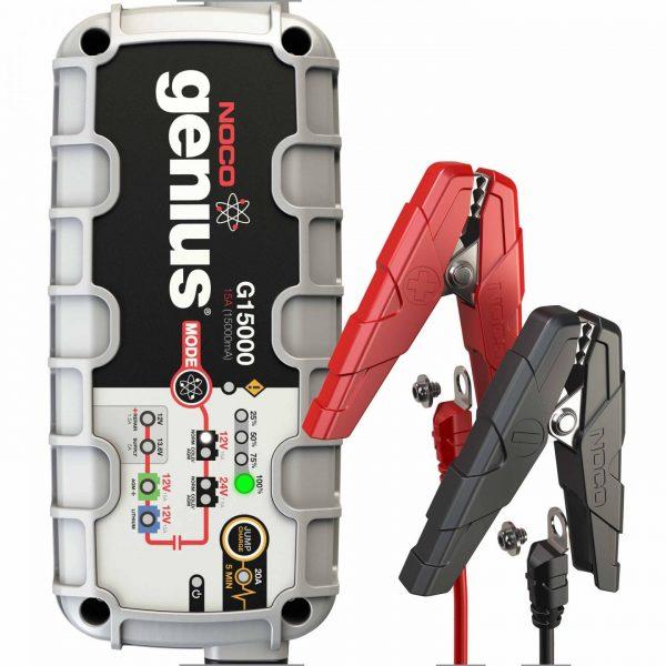 15 amp 12/24V NOCO Genius G15000 Multi-Purpose Battery Charger 2