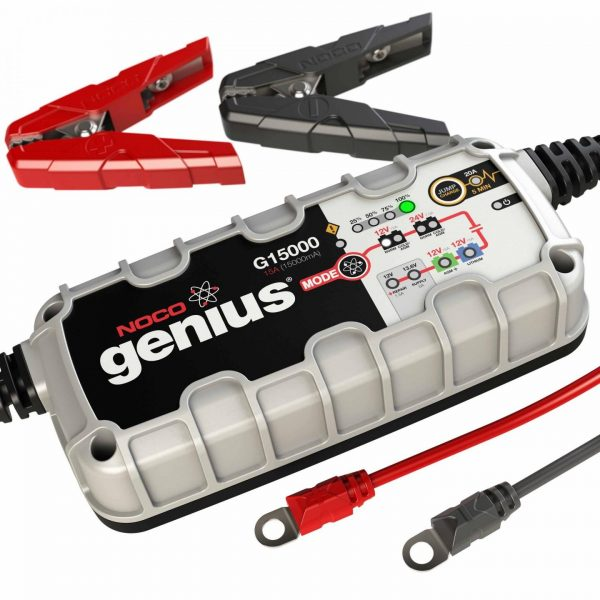 15 amp 12/24V NOCO Genius G15000 Multi-Purpose Battery Charger 1