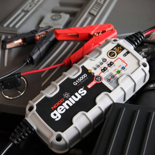 15 amp 12/24V NOCO Genius G15000 Multi-Purpose Battery Charger 5