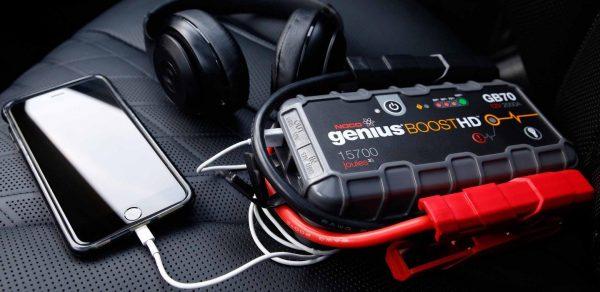 2000 Amp UltraSafe Lithium Noco Genius GB70 Jump Starter