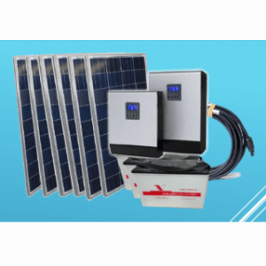 ALL-IN-ONE Solar Solution - 3 kVa