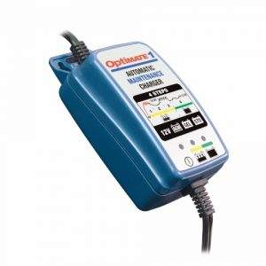 OptiMATE 1+ - 4-step 12V 0.6A Battery charger-maintainer