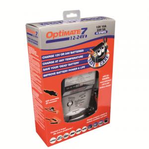 OptiMATE 7 - 12V-24V 8-step 12V-10Amp / 24V-5Amp Battery Saving charger-tester-maintainer