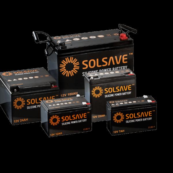 100AH – 12V Solsave Silicone Battery – BCS-12V100 1