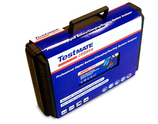 TestMate AUTO – Professional digital battery/charging/starting system analyzer 4