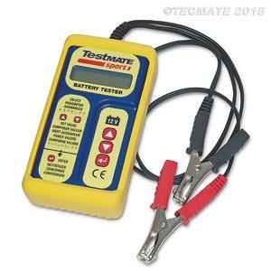 TestMate SPORT - Digital battery tester for 12v motorcycle, ATV &PWC batteries