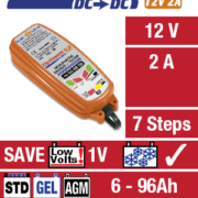OptiMATE DC to DC – 12V Battery / DC supply to 12V Battery Charger 5