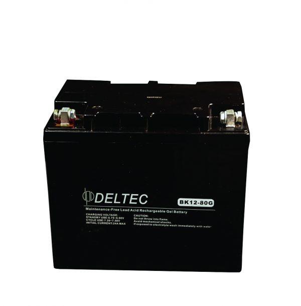 80AH - 12V GEL Battery - BK-12V80G