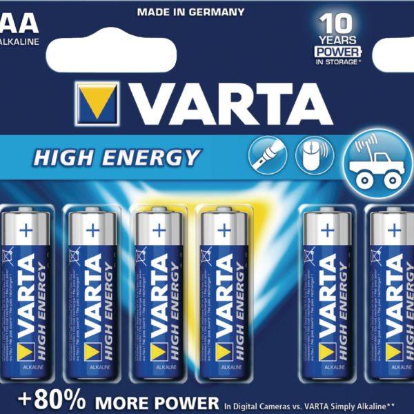 HIGH ENERGY AA – 6 Pack (x10) 1