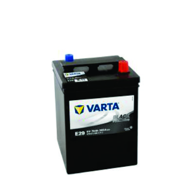 305 / E29 - 70ah 6V VARTA BATTERY - BV-6V-70